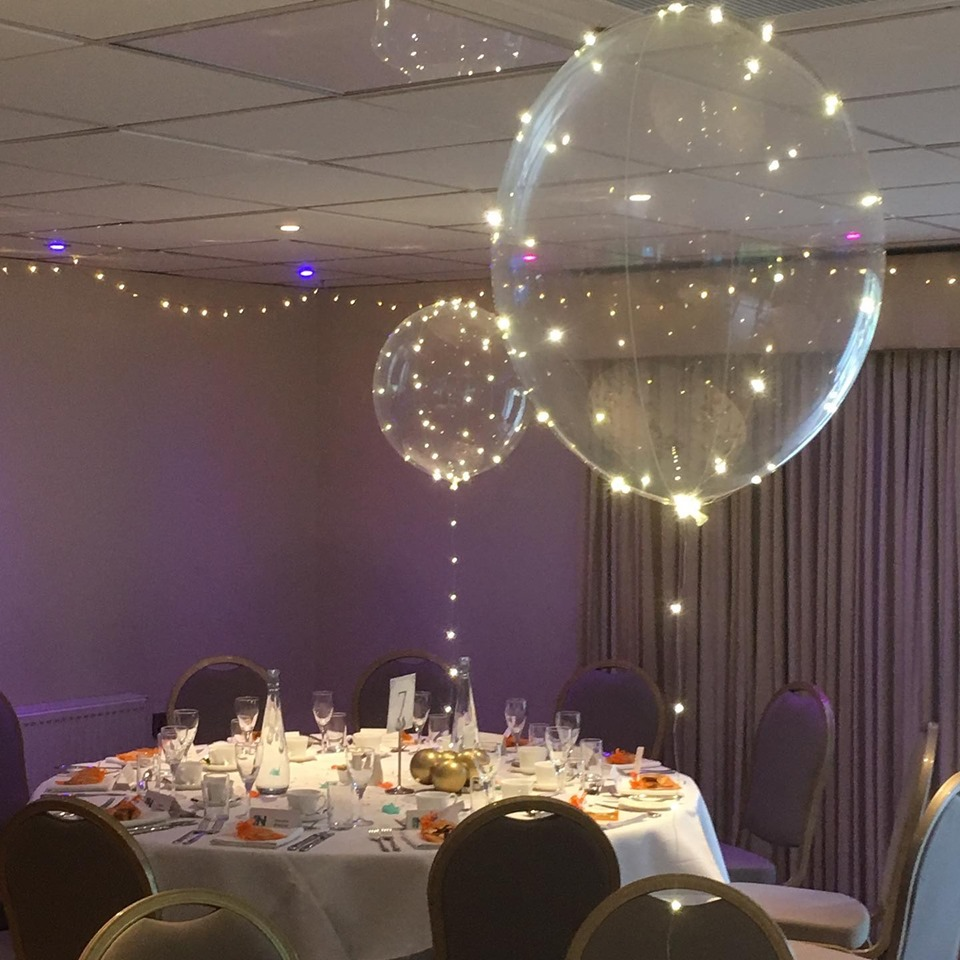 Balloon Table Centrepieces