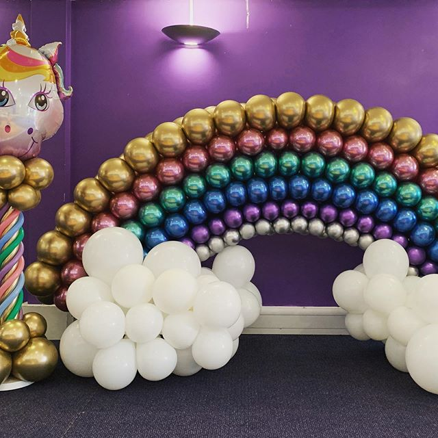 Chrome Rainbow Arch
