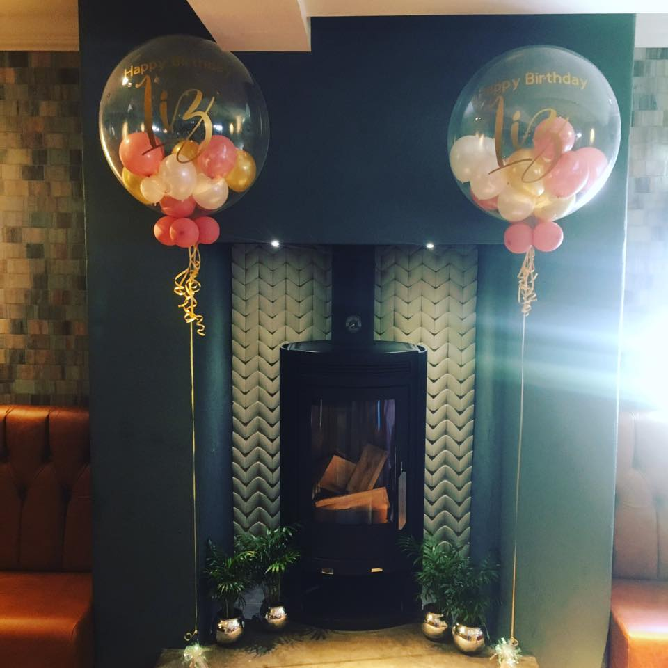 Bubble Balloons at the Swan with Two Necks