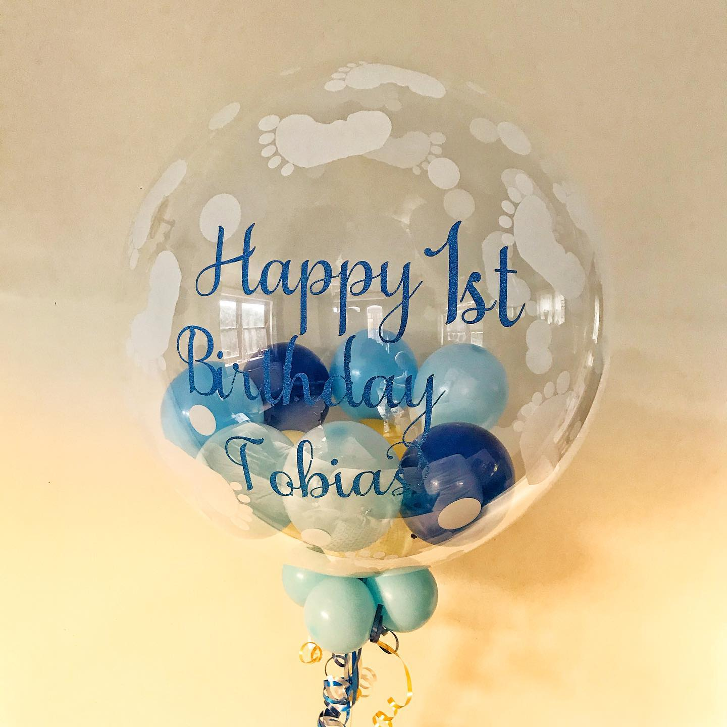 Tobias' Birthday Bubble