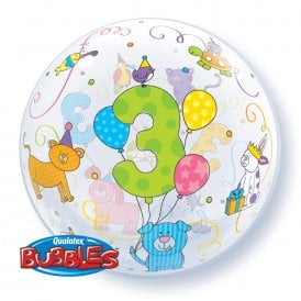 3rd Birthday Bubble