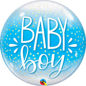 Baby Boy Bubble