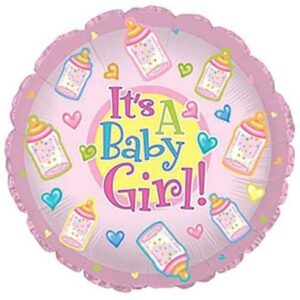 It's A Baby Girl Round