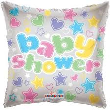 Baby Shower Transparent Clear