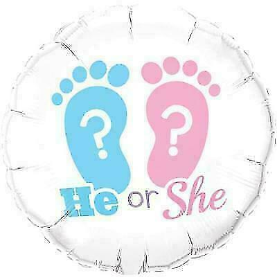 He or She Footprints