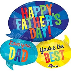 Happy Father's Day Speech Bubble