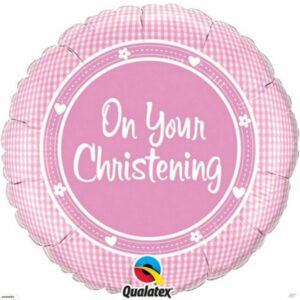 Pink On Your Christening