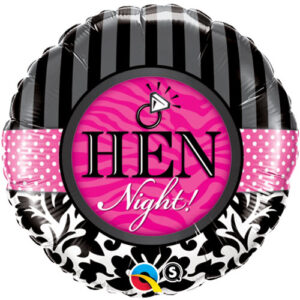 Hen Night - Damask and Stripes