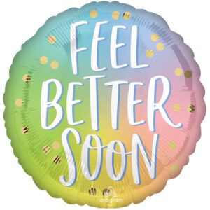 "Feel Better Soon Ombre 18"" Foil"