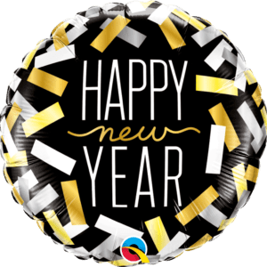 New Year Strips Foil 18""