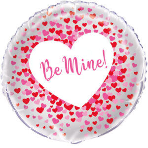 Be Mine Hearts Foil