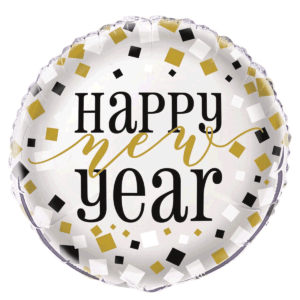New Year Confetti Foil