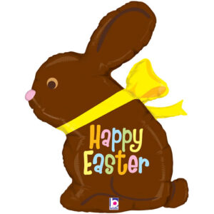 Chocolate Easter Bunny Foil39""